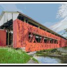Indiana Covered Bridge Pattern Chart Graph