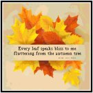 Autumn Leaves Pattern Chart Graph