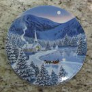 Silent Night Plate by Jean Sias on W S George China