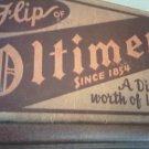 Vintage Oltimer Beer Bottle Box