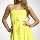 Juicy Couture Yellow Bubble Velour Dress Size medium