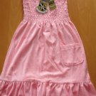 juicy couture velour beach dress baby pink size large