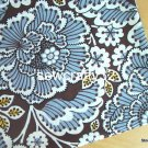 Sl*te Blooms Main Cotton Fabric 1 yd x 57""