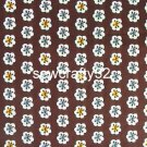 Sl*te Blooms Cotton Lining 1/2 yd x 57""