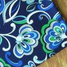 "Mediterr*nean Blue main Cotton Fabric 1 yd x 57"""