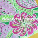 Pinwheel P*nk main Cotton Fabric 1 yd x 57""