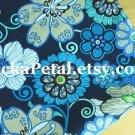 """Modflor*l Blue main Cotton Fabric 1 yd x 57"""""""