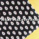 "Cl*ssic Black main Cotton Fabric 1 yd x 57"""