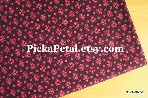 """Mes* Red Cotton Lining 1 yd x 57"""""""
