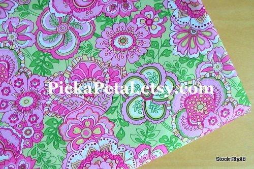 "Petal P*nk main Cotton Fabric 1 yd x 57"""