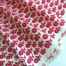 "Twirly B*rds Pink cotton Lining 1 yd x 57"""
