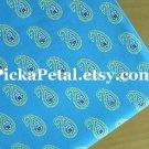 "Bermuda B*ue main Cotton Fabric 1 yd x 57"""