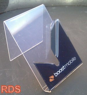 BOOST CELLPHONES  DISPLAY HOLDERS LOT OF 12 PCS