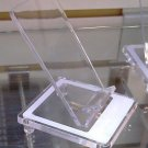TRANSPARENT CELLPHONES  DISPLAY HOLDERS LOT OF 12 PCS