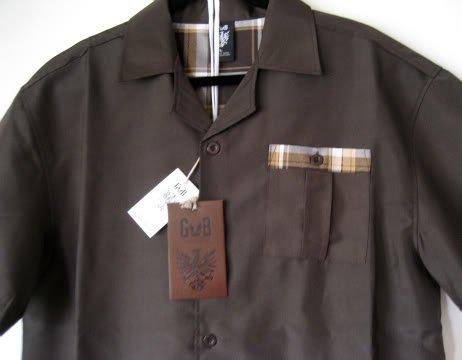 Mens Shirt & Plaid Short Set Size L-3XL/32-44 BRAND NEW