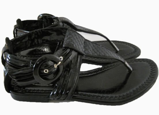 Womens Gladiator FLAT Sandals Strappy Thong Flops Shoes