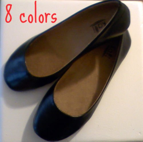 Womens Ballet Flats 8 Colors Size 5-11 BRAND NEW