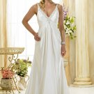Custom made A-line wedding dresses 2011 AD013