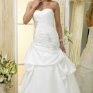 Custom made A-line wedding dresses 2011 AD014