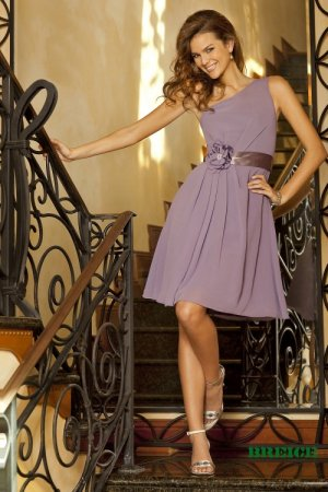 Purple Cocktail Dress on Short Purple Bridesmaid  Cocktail  Formal  Wedding Guest Dresses