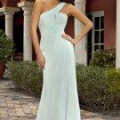 Long One Shoulder Evening / Bridesmaid/ formal/ wedding guest dresses AD874