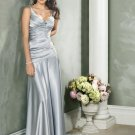 Silver Long Evening Dresses Prom Formal Gowns 09