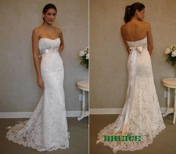 Elegant Lace Wedding Dress Bridal Gowns 22