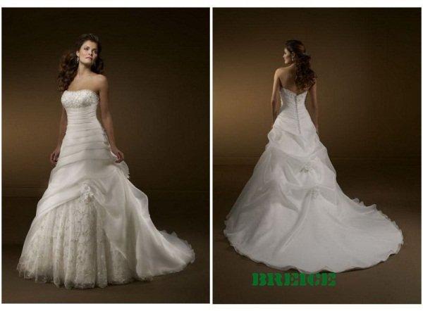 Elegant Wedding Dress Bridal Ball Gowns 23