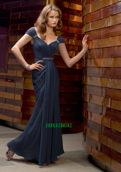 Custom Made Mother of The Bride Dresses Wedding Guest Dress M001