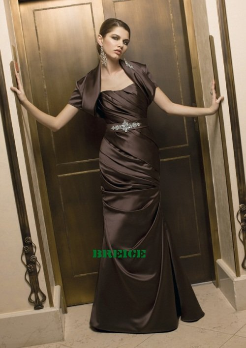Custom Made Mother of The Bride Dresses Wedding Guest Dress M010