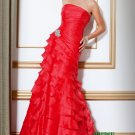 Red Long Evening Dresses Prom Party Gowns J01