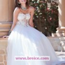 Sexy A-line Ball Gown Evening Dresses Prom Party Formal Bridal GownsP032