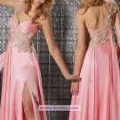 Sexy Sheath/Column One Shoulder Long Evening Dresses Prom Party Formal Bridal GownsP051