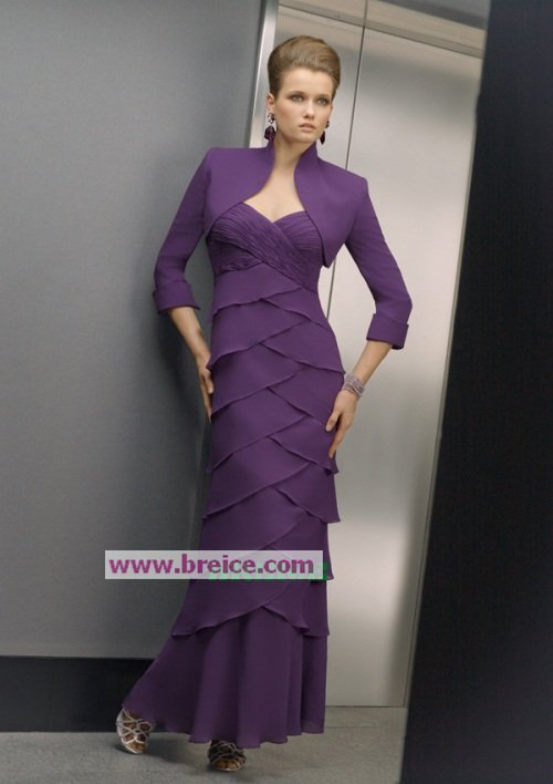 Custom Made Mother of The Bride Dresses Wedding Guest Dress M034