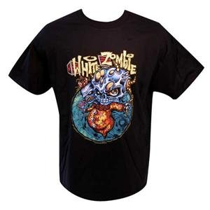White Zombie Blue Zombie Shirt