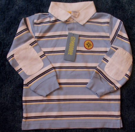NWT Gymboree Saling Club Long Sleeve Shirt Size 2T