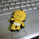 4GB CUTE ANGRY BABY Flash Memory Stick Thumb Drive