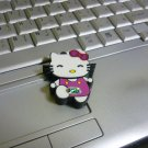 4GB CUTE PURPLE KITTY Flash Memory Stick Thumb Drive