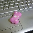 4GB CUTE PINK BONE Flash Memory Stick Thumb Drive