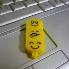 4GB CUTE YELLOW FACES Flash Memory Stick Thumb Drive