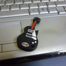 4GB COOL BLACK GUITAR Flash Memory Stick Thumb Drive