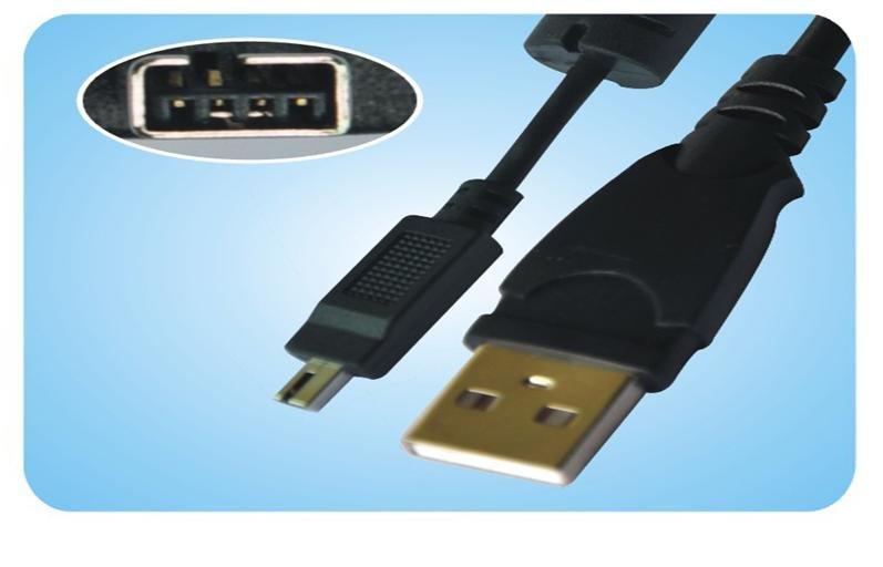 Fuji FinePix 50i Cradle 6800 6800Z 6900 6900Z 4P USB Cable
