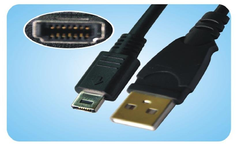 FujiFILM E500 E510 E550 14P USB Cable