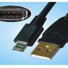 FujiFILM F610 F700 F710 F650 F800 F810 14P USB Cable