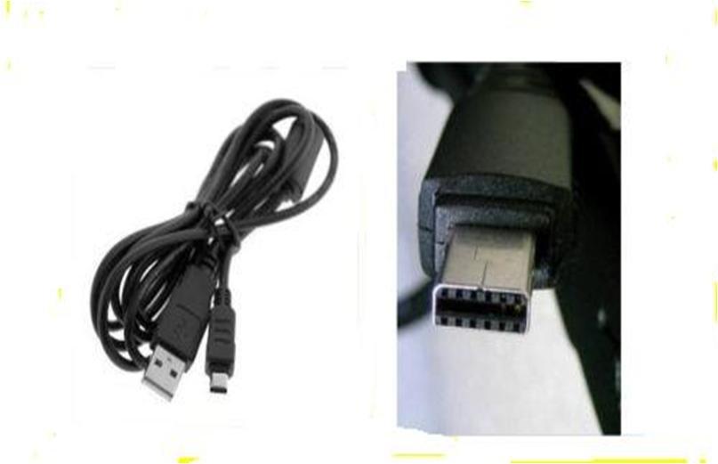 Casio Exilim EX-S10 EX-Z2 EX-Z9 EX-Z18 EX-Z19 EX-Z29 USB Cable