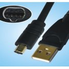 Nikon CoolPix 5700 5000 4500 4300 995 990 885 800 UC-E1 USB Cable