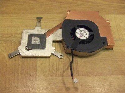 Compaq Presario 2100 Laptop CPU Cooling Fan CF0550-B10M-C016 and Heatsink