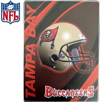 NFL DOUBLE SIDED PLUSH BUCCANEER BLANKET