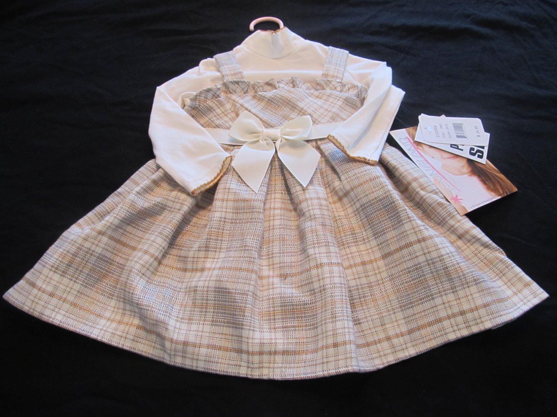 18 Months Girls Dress w/ Onesie