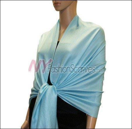 Silky Soft Solid Pashmina <br> #NYZ001-26